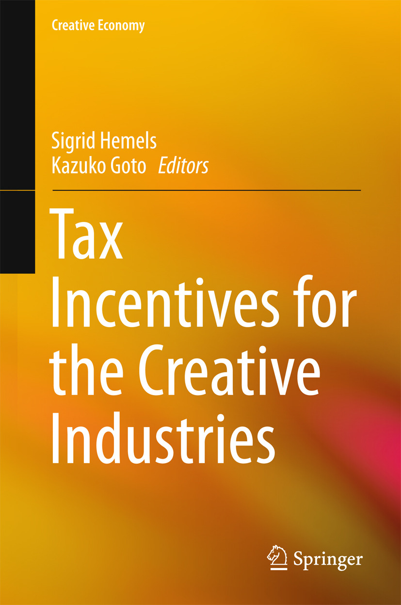 Goto, Kazuko - Tax Incentives for the Creative Industries, ebook