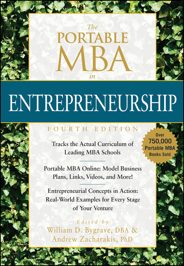 Bygrave, William D. - The Portable MBA in Entrepreneurship, ebook