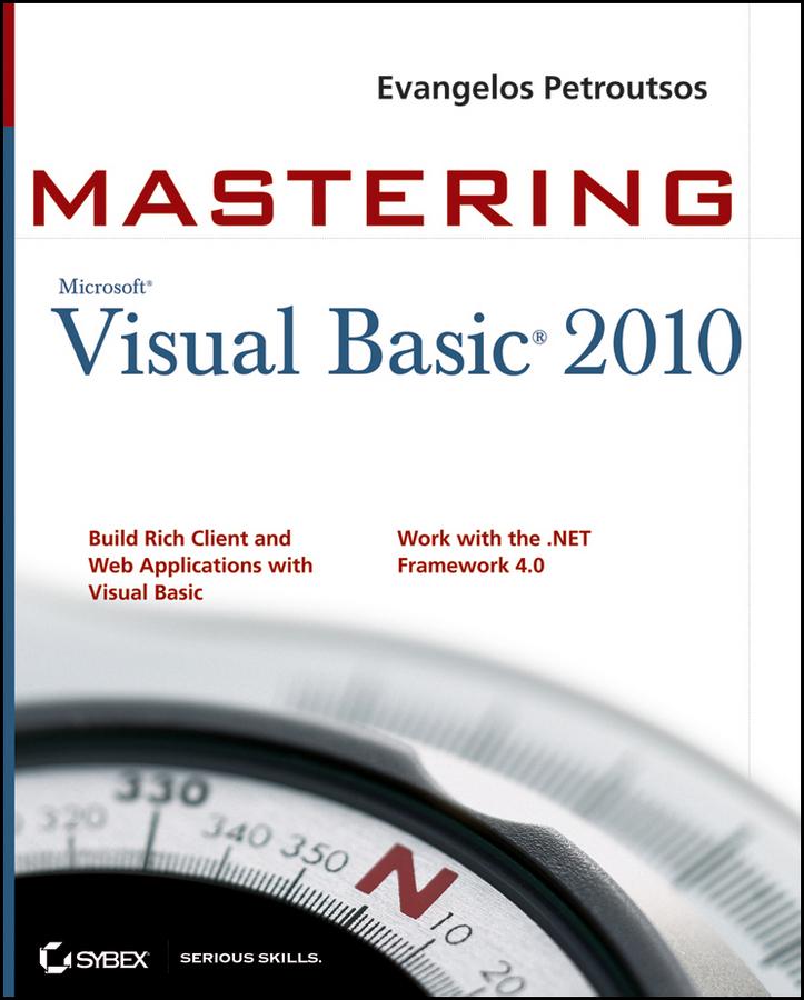 Petroutsos, Evangelos - Mastering Microsoft Visual Basic 2010, ebook