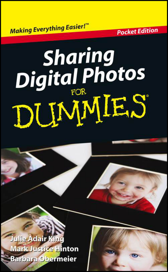 Hinton, Mark Justice - Sharing Digital Photos For Dummies, Pocket Edition, ebook