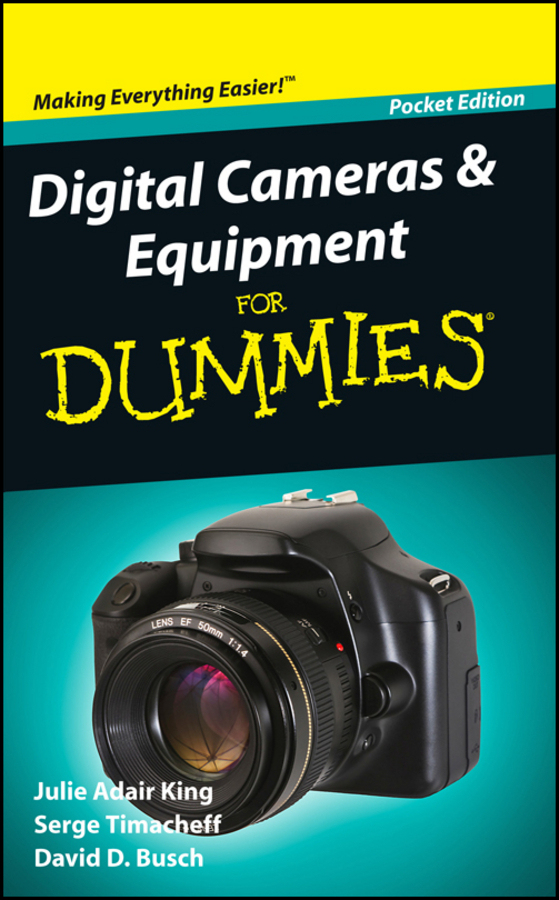 Busch, David D. - Digital Cameras and Equipment For Dummies, Pocket Edition, ebook