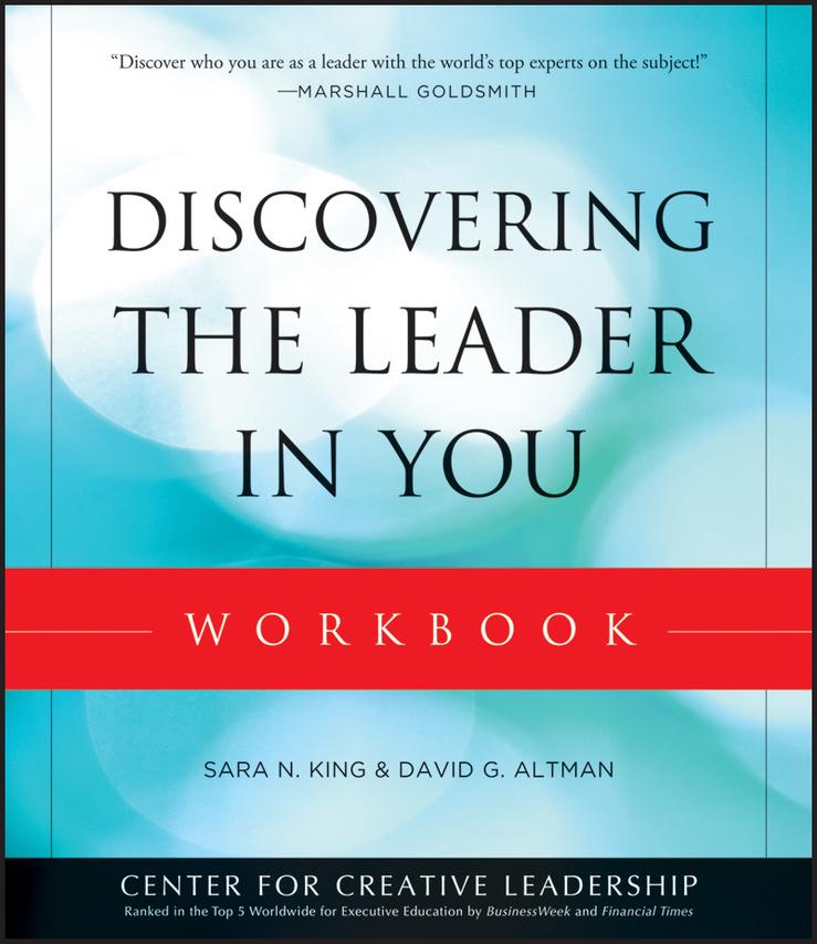 Altman, David - Discovering the Leader in You Workbook, e-kirja