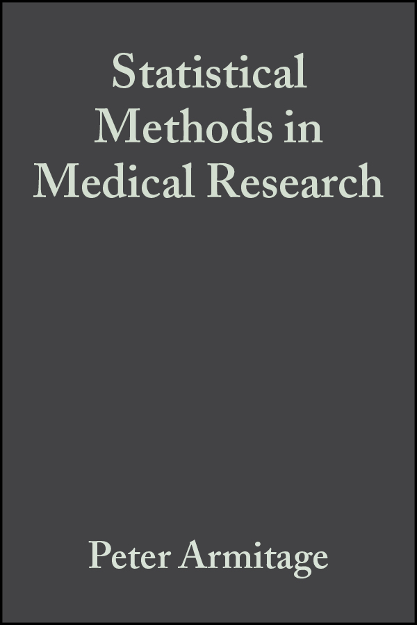 Armitage, Peter - Statistical Methods in Medical Research, ebook