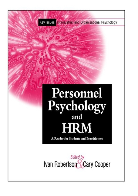 Cooper, Cary L. - Personnel Psychology and Human Resources Management: A Reader for Students and Practitioners, ebook