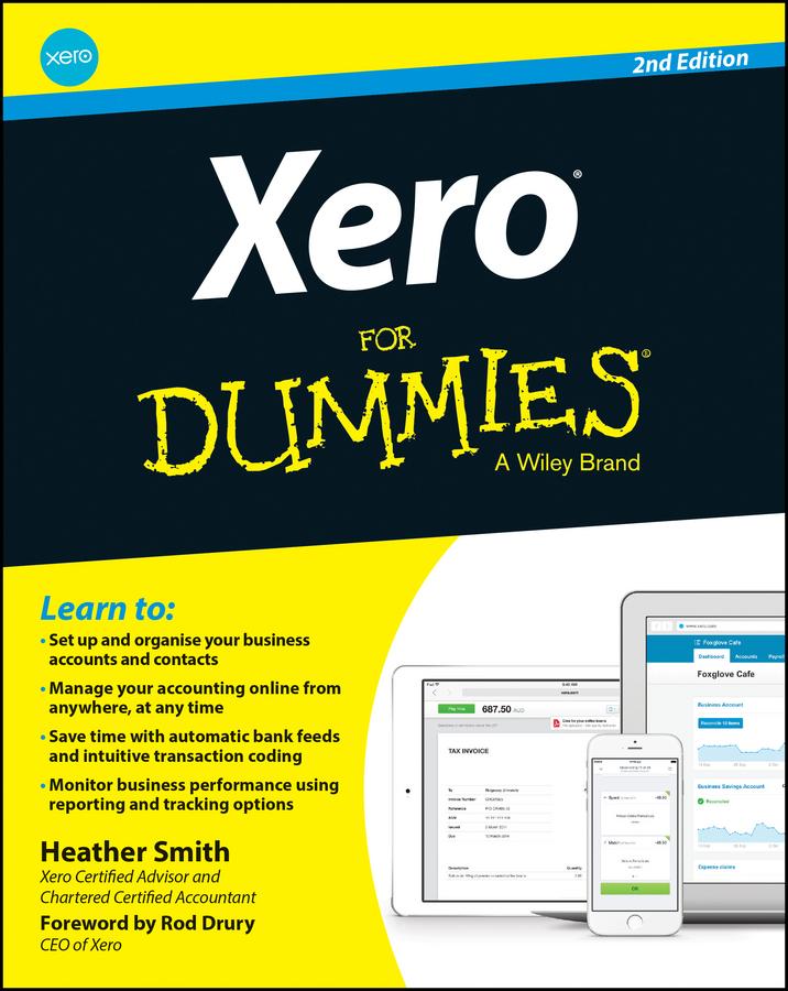 Drury, Rod - Xero For Dummies, ebook
