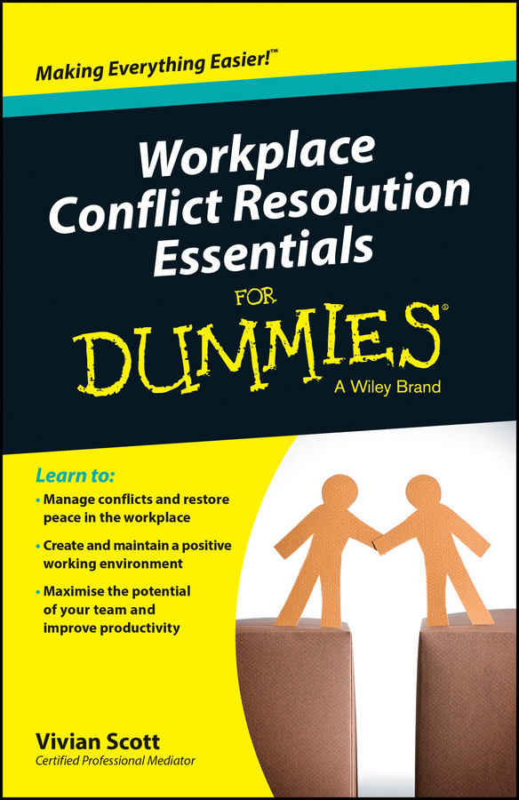 Scott, Vivian - Workplace Conflict Resolution Essentials For Dummies, ebook