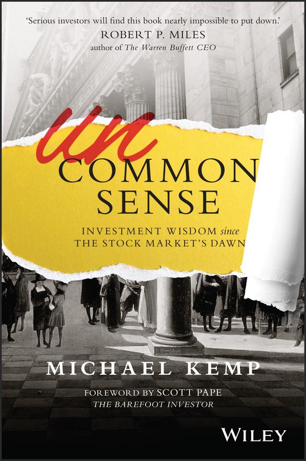 Kemp, Michael - Uncommon Sense: Investment Wisdom Since the Stock Market's Dawn, ebook