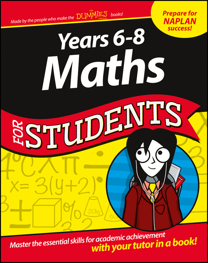 - Years 6 - 8 Maths For Students, ebook