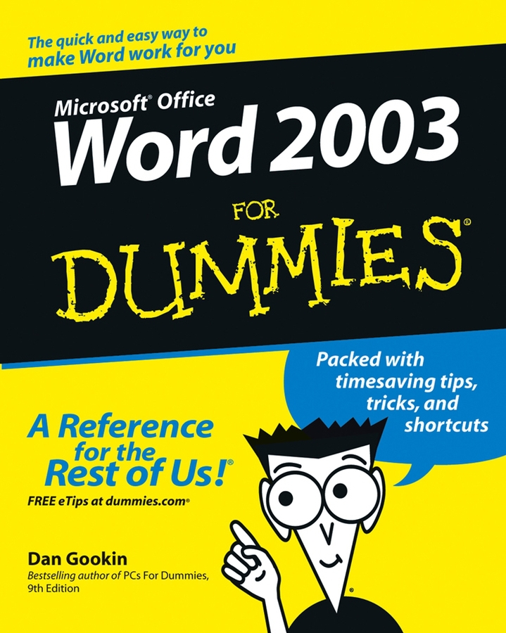 Gookin, Dan - Word 2003 For Dummies, ebook