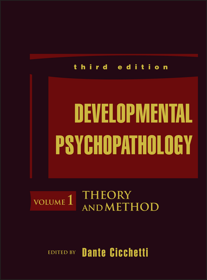 Cicchetti, Dante - Developmental Psychopathology, Theory and Method, ebook