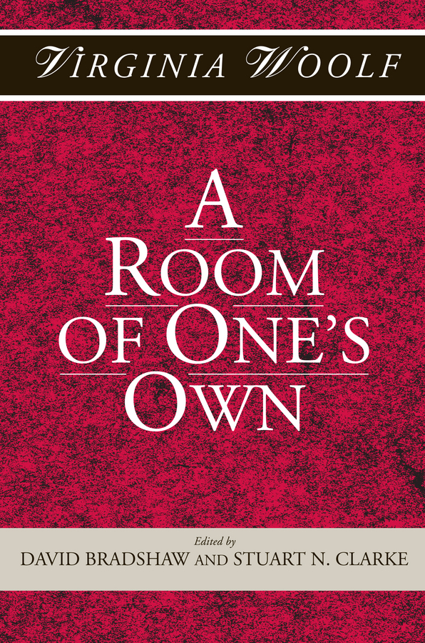 Woolf, Virginia - A Room of One's Own, ebook