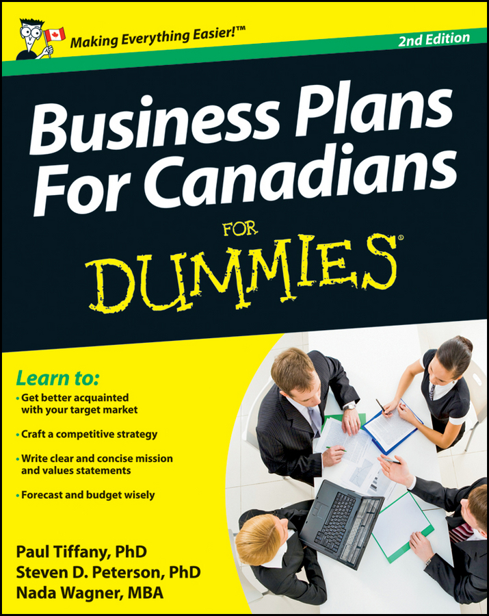 Peterson, Steven D. - Business Plans For Canadians for Dummies, ebook