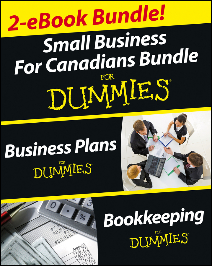 Epstein, Lita - Business Plans and Bookkeeping for Canadians eBook Mega Bundle For Dummies, e-kirja