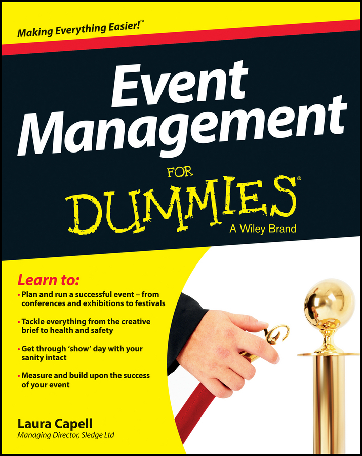 Capell, Laura - Event Management For Dummies, ebook