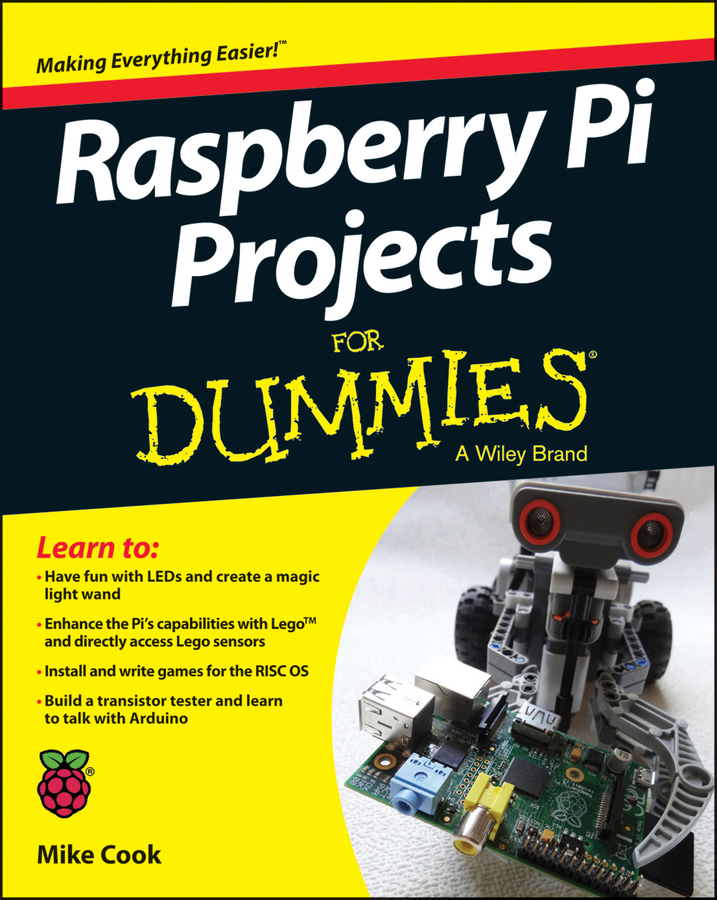 Cook, Mike - Raspberry Pi Projects For Dummies, ebook