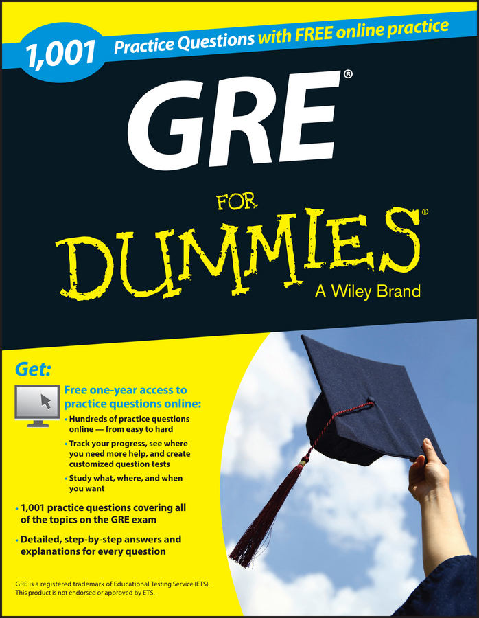 Gre Study Book >> 1 001 Gre Practice Questions For Dummies Free Online