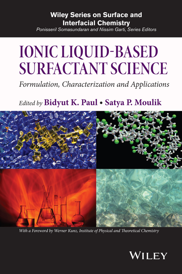Kunz, Werner - Ionic Liquid-Based Surfactant Science: Formulation, Characterization, and Applications, ebook