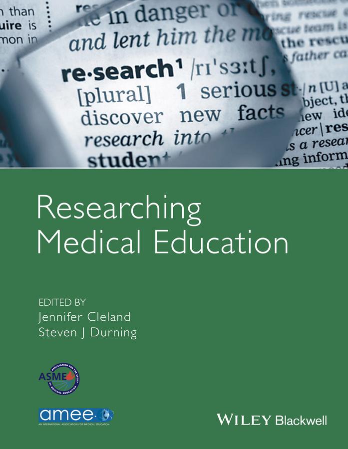 Cleland, Jennifer - Researching Medical Education, ebook