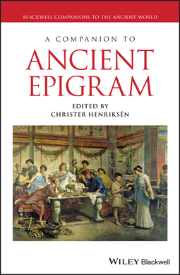 Henriksén, Christer - A Companion to Ancient Epigram, ebook