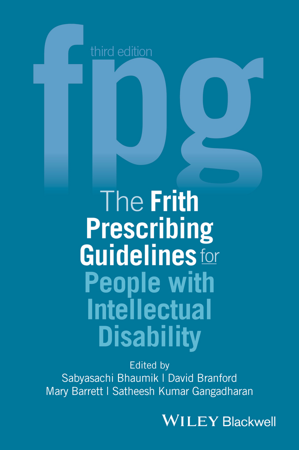 Barrett, Mary - The Frith Prescribing Guidelines for People with Intellectual Disability, ebook