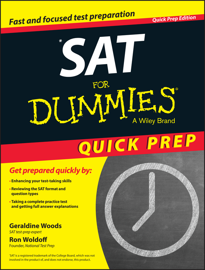 Woldoff, Ron - SAT For Dummies 2015 Quick Prep, ebook