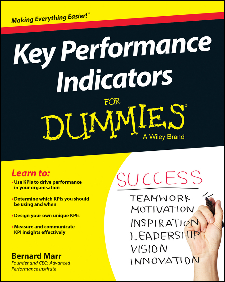 Marr, Bernard - Key Performance Indicators For Dummies, ebook