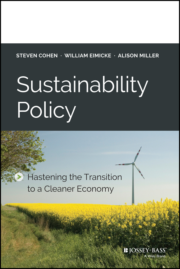 Cohen, Steven - Sustainability Policy: Hastening the Transition to a Cleaner Economy, e-kirja