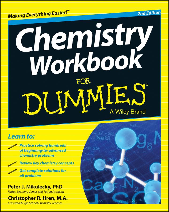 Hren, Chris - Chemistry Workbook For Dummies, ebook