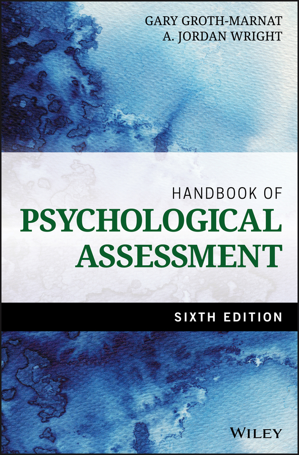 Groth-Marnat, Gary - Handbook of Psychological Assessment, ebook