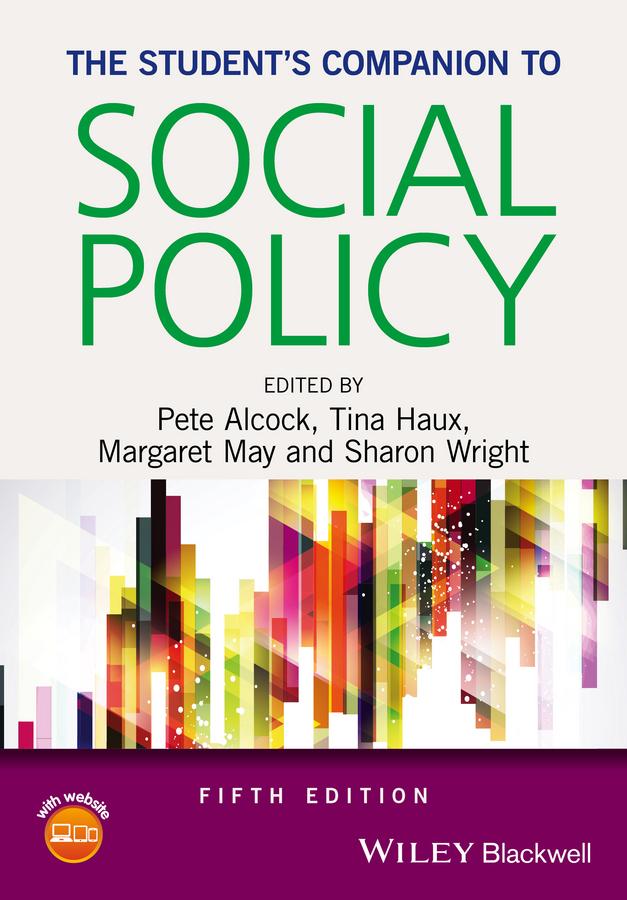 Alcock, Pete - The Student's Companion to Social Policy, e-bok