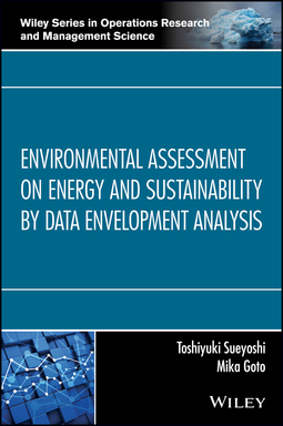Goto, Mika - Environmental Assessment on Energy and Sustainability by Data Envelopment Analysis, ebook