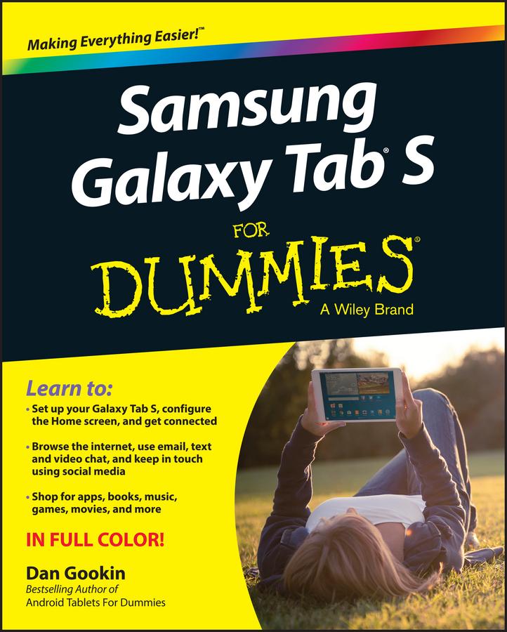 Gookin, Dan - Samsung Galaxy Tab S For Dummies, ebook