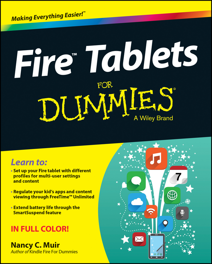 Muir, Nancy C. - Fire Tablets For Dummies, ebook