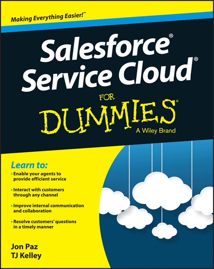 Kelley, T. J. - Salesforce Service Cloud For Dummies, ebook