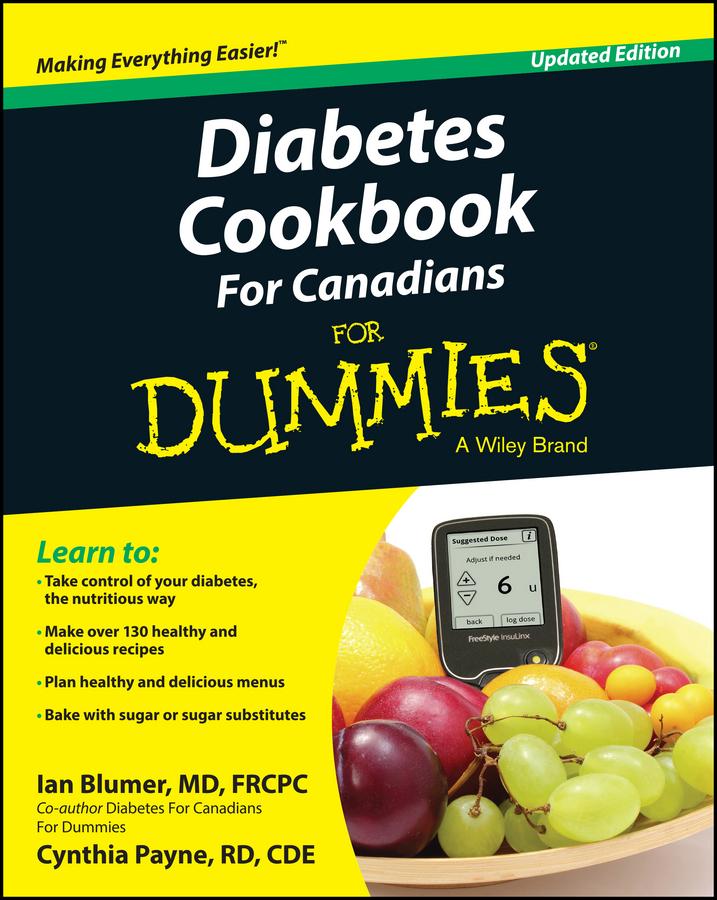 Blumer, Ian - Diabetes Cookbook For Canadians For Dummies, e-bok