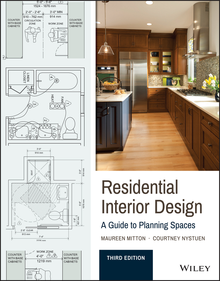 Mitton, Maureen - Residential Interior Design: A Guide To Planning Spaces, e-kirja