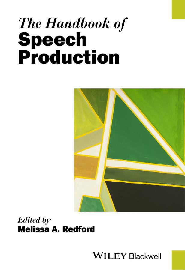 Redford, Melissa A. - The Handbook of Speech Production, ebook