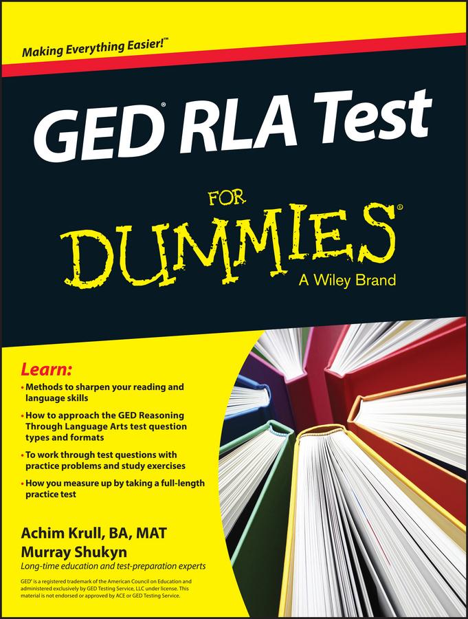 Krull, Achim K. - GED RLA For Dummies, ebook
