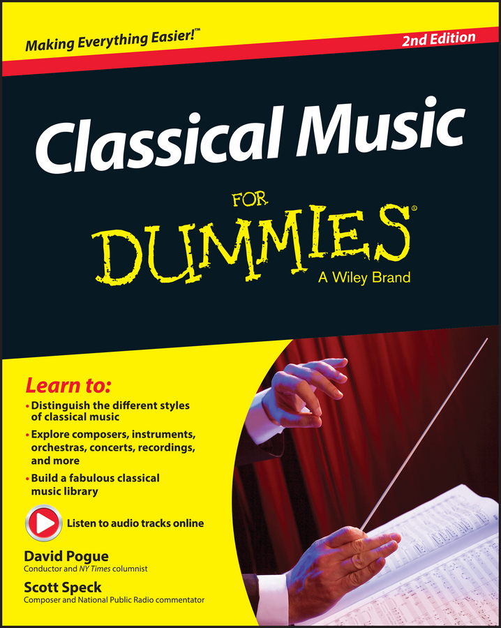Pogue, David - Classical Music For Dummies, ebook