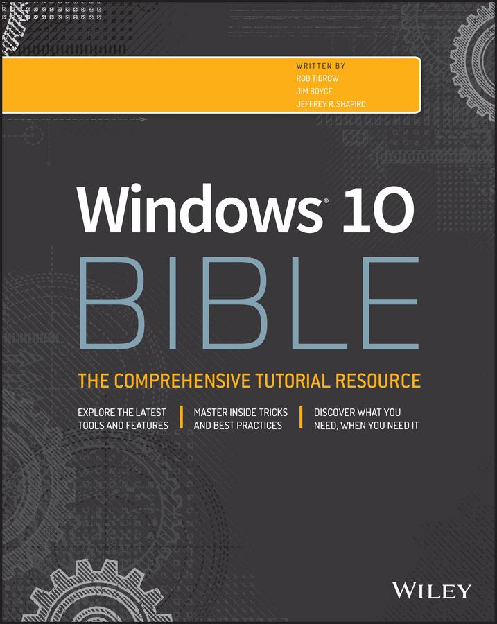 Boyce, Jim - Windows 10 Bible, ebook