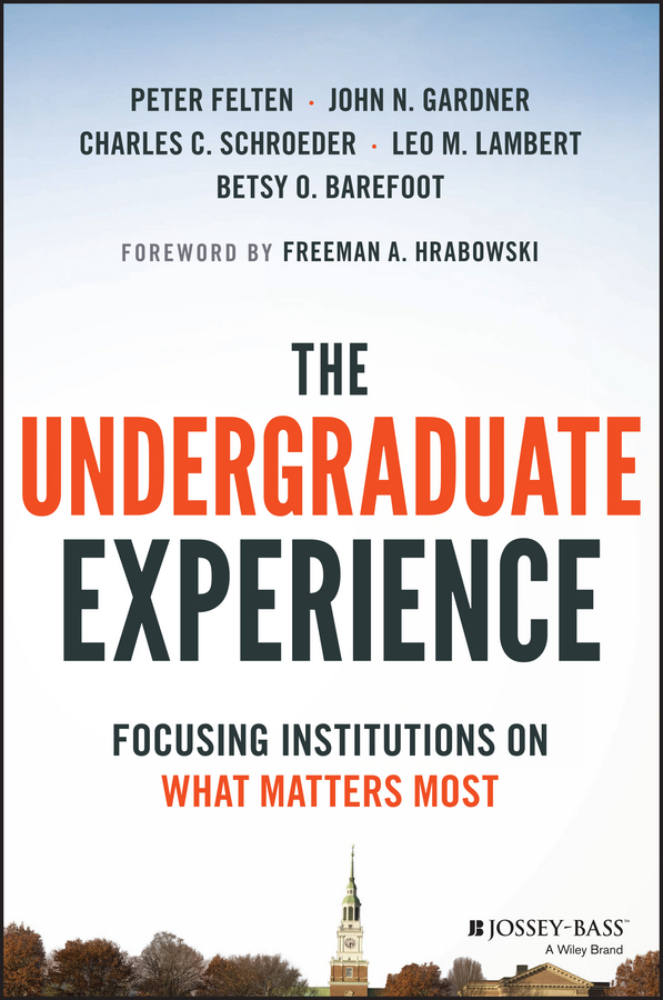 Barefoot, Betsy O. - The Undergraduate Experience: Focusing Institutions on What Matters Most, ebook