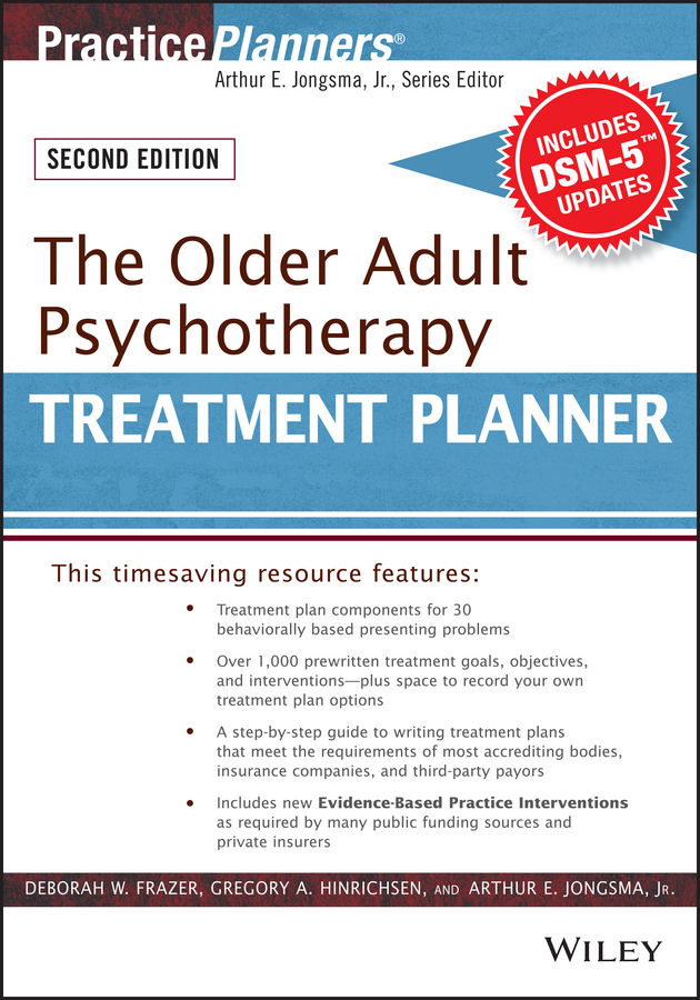 Frazer, Deborah W. - The Older Adult Psychotherapy Treatment Planner, with DSM-5 Updates, 2nd Edition, ebook