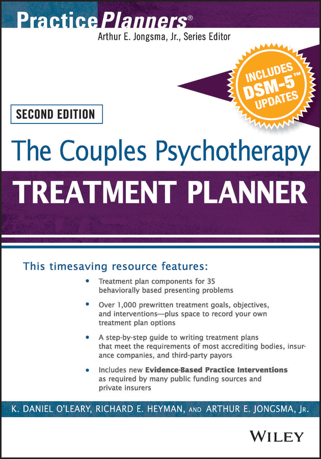 Heyman, Richard E. - The Couples Psychotherapy Treatment Planner, with DSM-5 Updates, ebook