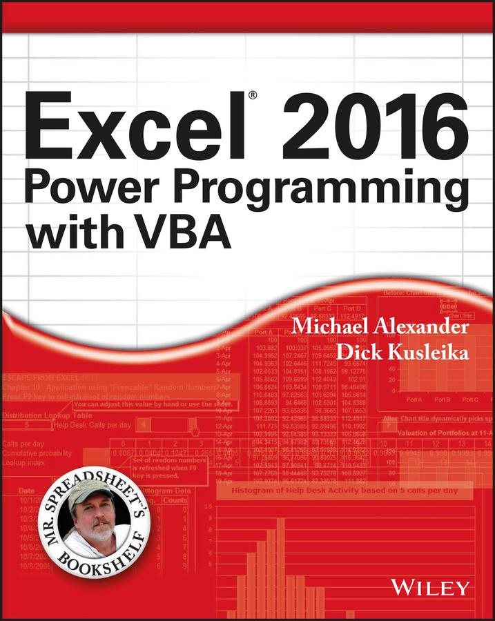 Alexander, Michael - Excel 2016 Power Programming with VBA, ebook