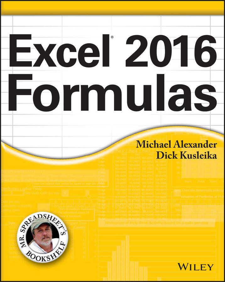 Alexander, Michael - Excel 2016 Formulas, ebook
