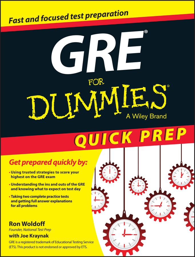 Kraynak, Joseph - GRE For Dummies Quick Prep, ebook