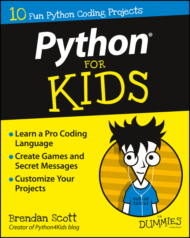 Scott, Brendan - Python For Kids For Dummies, ebook