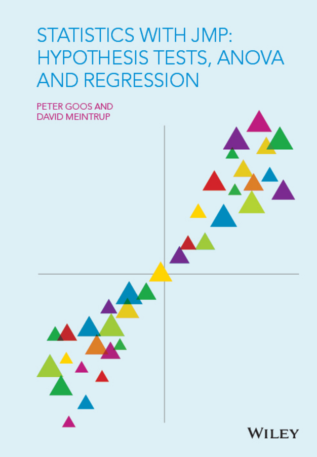 Goos, Peter - Statistics with JMP: Hypothesis Tests, ANOVA and Regression, ebook