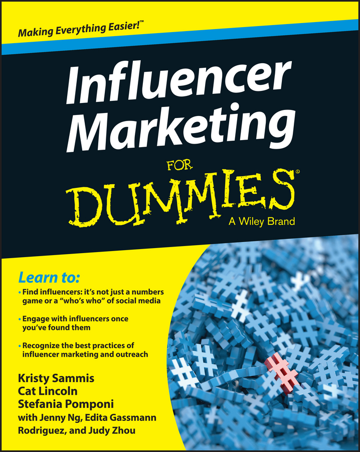 Lincoln, Cat - Influencer Marketing For Dummies, ebook
