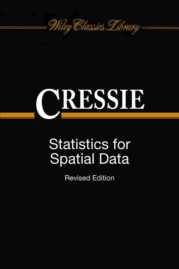 Cressie, Noel - Statistics for Spatial Data, ebook